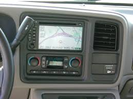 factory gm navigation for 2003 2006 gm pickups