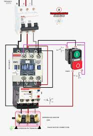 schematic diagram magnetic contactor love wiring diagram ideas AC Contactor Wiring Diagram delta motor wiring diagram components