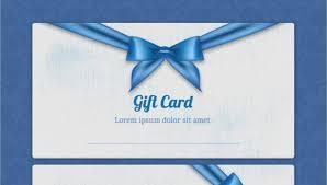 7 Beautiful Gift Card Designs Free Premium Templates
