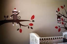 image of paint sock monkey nursery