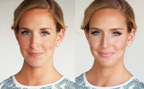 brooke before and after makeup