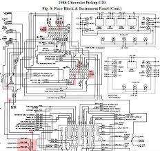 have a 1986 chevy c20 4sp tran, a c blowing the fuse for the 1985 chevy truck wiring diagram at 1986 Chevy Truck Wiring Diagram
