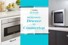 Dishwasher Drawers Vs Standard Whats The Difference Between A Microwave Drawer And A Countertop