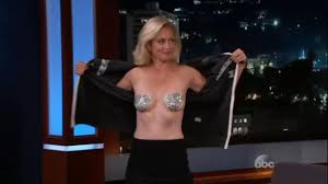Alexandra Wentworth Mrs Stephanopoulos Flashes Breasts On Jimmy Kimmel Live