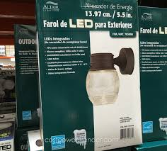 altair lighting corporation ideas altair outdoor led lantern with optional arm kit unique architecture nice al