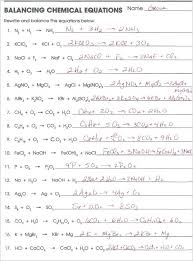 easy worksheets best of balancing equations worksheet with answers balancing equations worksheet