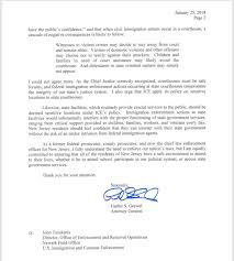 letter expressing concern nj attorney general sends letter to u s homeland security
