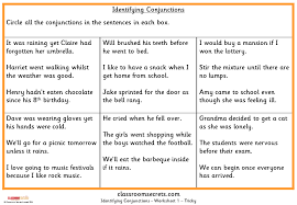 Identifying Conjunctions KS2 SPAG Test Practice | Classroom Secrets