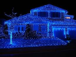 outdoor christmas lights house ideas. blue christmas 003 my father only wanted lights when he lit up the outdoor trees house ideas