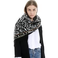 Designer Shawls And Wraps Us 6 1 25 Off Designer Winter Women Scarf Leopard Scarf Pashmina Shawl Wrap Scarf Blanket Shawls And Wraps High Quality Female Shawl Hot Sale On