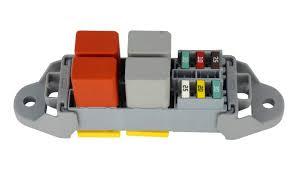 mta fuse and relay holder for 4 way mini fuses and 2 way relay Car Fuse at Modular Fuse Box Mta