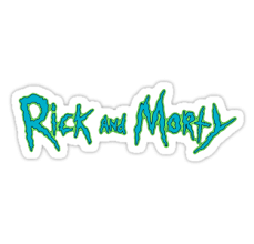 Rick and Morty Logo • Also buy this artwork on stickers, apparel ...