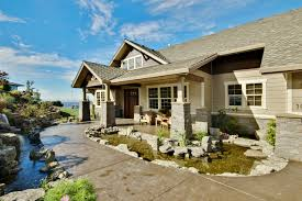 Luxury House Plans   Luxury Home Plans   Associated DesignsCraftsman House Plan   Pacifica     Front Elevation