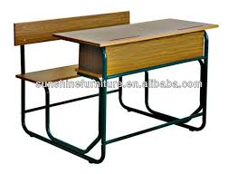 school desk and chair combo. double bench school desk and chair,classroom furniture chair combo