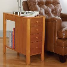narrow end table with drawers the new way home decor save more space with narrow end table