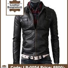 smart look bike black color pure leather jacket