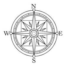 Small Picture Compass Rose Coloring Page Compass rose Compass and Worksheets