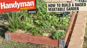 how to build a vegetable garden. How To Build A Raised Vegetable Garden N