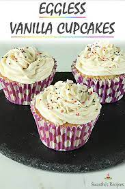eggless cupcakes recipe vanilla
