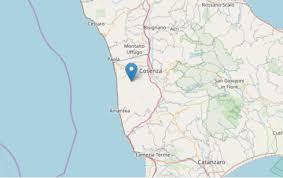 Scossa di terremoto con epicentro a Cerisano. I dati ...