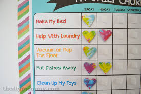How To Make A Chores Chart Lamasa Jasonkellyphoto Co