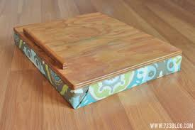 simple diy lap desk inspiration made with cushioned prepare 6