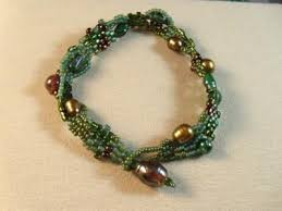 Image result for freeform peyote bracelet