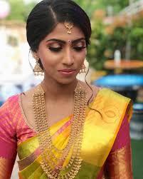 n i s h a e d a y makeup bride beautifullady bridalmakeup tamil
