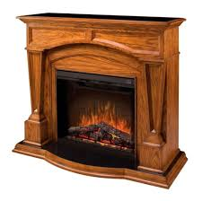 elegant dimplex electric fireplace with bridgewood mantle