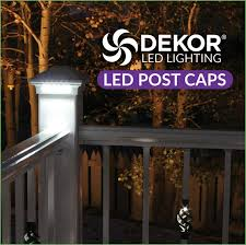 lighting 12v led post cap light dekor lighting supplies a multitude of beautiful plug n