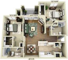Marvelous 3 Bedroom Apartments Houston Tx Pertaining To Room Image And  Wallper 2017