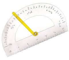 printable protractor with ruler. product image - click to enlarge printable protractor with ruler