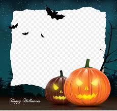 Halloween Template Halloween Template Greeting Card Illustration Halloween Border Png