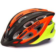 Briko Quarter Helmet Orange Yellow