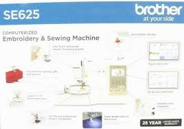 Brother Free Embroidery Designs Usa Brand New Sealed Brother Se625 Computerized Sewing And