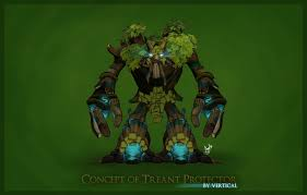 concept of treant protector by vert1cal on deviantart