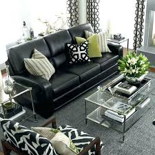 black sofa um size of what colour goes with brown leather curns go couch sofas black sectional sofa