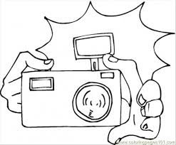 Small Picture Camera Coloring Page Free Home Appliances Coloring Pages