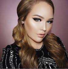 makeup ideas nikki sey half face beauty ideals are more extreme than ever thanks to insram