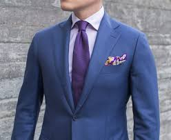 Purple Tie Light Blue Shirt Dark Blue Suit Shirt Tie Dreamworks