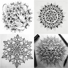 тату дотворк красивые примеры и особенности стиля Tattoo Ideas