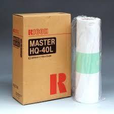<b>Мастер</b>-<b>плёнка</b> (2 рулона в коробке) для дупликатора тип HQ40L ...