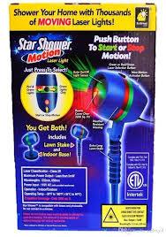 Star Shower Motion Laser Lights Star Projector, Festive Lights For ...