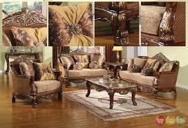 brown sofa sets. Traditional Style Formal Living Room Furniture Brown Sofa Set Best Sets C