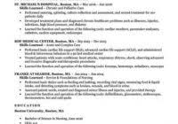 Example Of Rn Resume Example Of Nursing Resume Www Sfeditorwatch Com