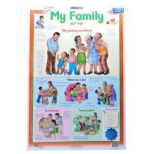 Family Chart Marlin Kids Chart My Family Freedom Stationery