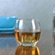 round scotch whiskey glass for india market