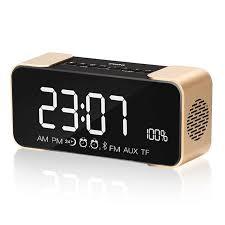 classic big subtitles digital desk clock office multi function table clocks with radio bluetooth small digital office clocks e72 clocks