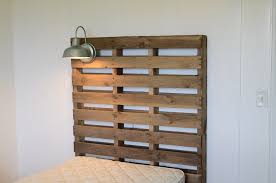attractive design making a headboard out of pallets world s easiest pallet i ve made