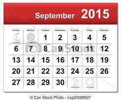 Septiembre 2015 Calendario Eps10 File Capas Diferente Eps10
